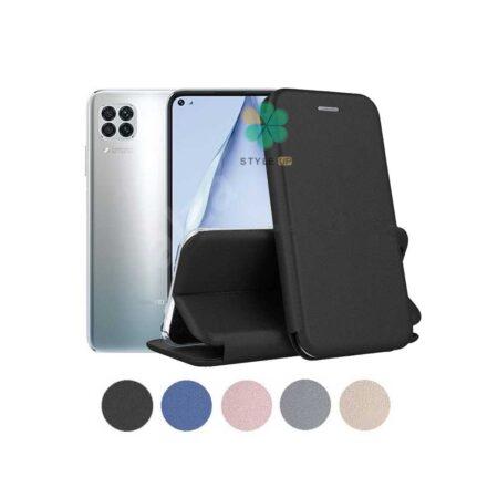 خرید کیف کلاسوری چرمی گوشی هواوی Huawei P40 Lite