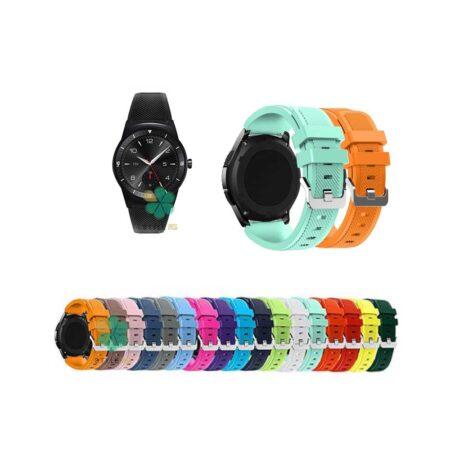 خرید بند سیلیکونی ساعت هوشمند ال جی LG G Watch R W110