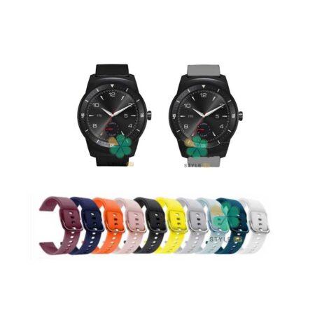 خرید بند ساعت ال جی LG G Watch R W110 مدل سیلیکونی نرم