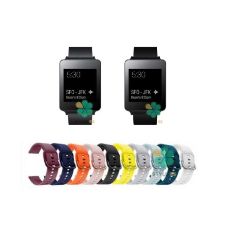 خرید بند ساعت ال جی LG G Watch W100 مدل سیلیکونی نرم