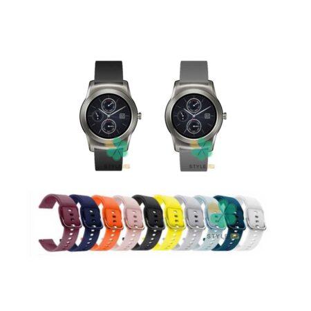 خرید بند ساعت ال جی LG Watch Urban Luxe مدل سیلیکونی نرم