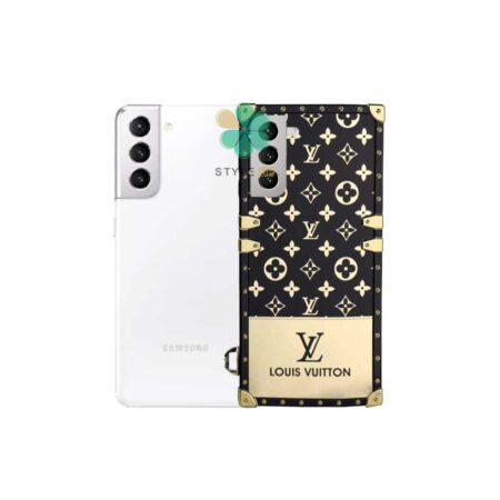 خرید قاب گوشی سامسونگ Galaxy S21 Plus مدل صندوقی لویی ویتون