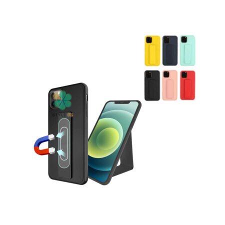 خرید قاب گوشی ایفون iPhone 11 Pro Max مدل سیلیکونی هولدردار