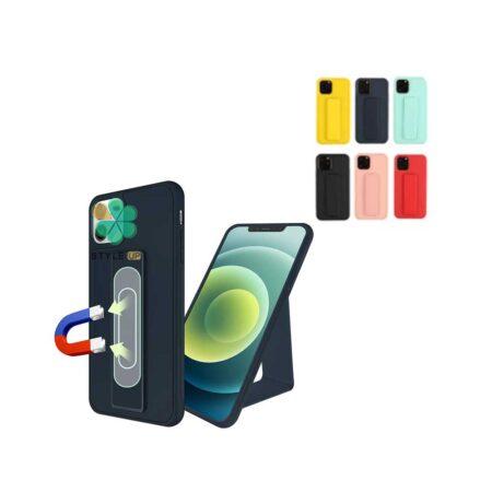 خرید قاب گوشی ایفون Apple iPhone 12 مدل سیلیکونی هولدردار