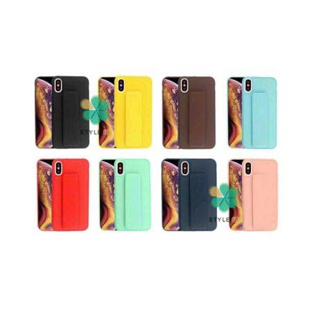 خرید قاب گوشی ایفون Apple iPhone X / XS مدل سیلیکونی هولدردار