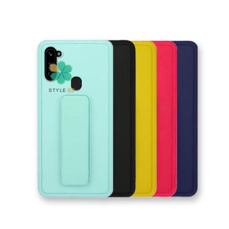 خرید قاب گوشی سامسونگ Samsung Galaxy A11 مدل سیلیکونی هولدردار