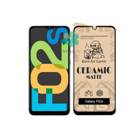 خرید گلس سرامیکی مات گوشی سامسونگ Samsung Galaxy F02s