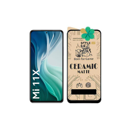 خرید گلس سرامیکی مات گوشی شیائومی Xiaomi Mi 11X