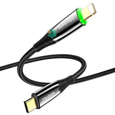 خرید کابل شارژ هوشمند Type C به Lightning مک دودو مدل Mcdodo Ca-8560