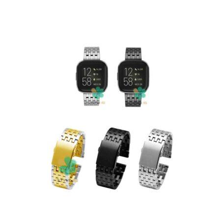خرید بند ساعت هوشمند فیت بیت ورسا Fitbit Versa مدل Morellato