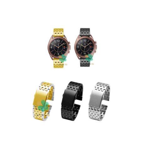 خرید بند ساعت هوشمند سامسونگ Galaxy Watch 3 45mm مدل Morellato