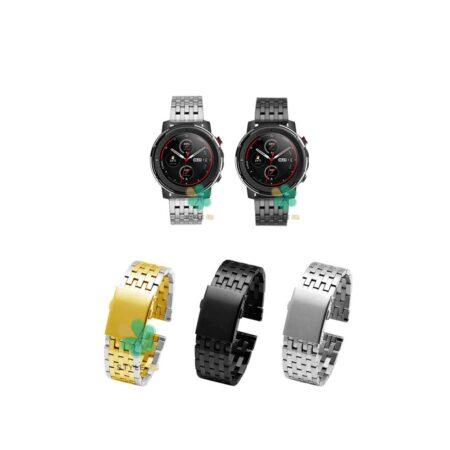 خرید بند ساعت هوشمند شیائومی Xiaomi Amazfit Stratos 3 مدل Morellato
