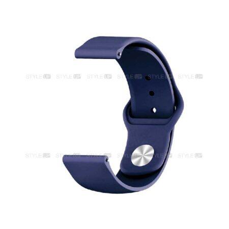 خرید بند سیلیکونی ساعت موتورولا Moto 360 2nd 46mm مدل دکمه ای