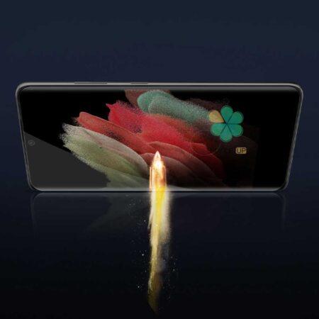 خرید گلس 3D نیلکین گوشی سامسونگ Galaxy S21 Ultra مدل CP+ Max