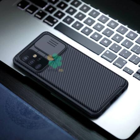 عکس قاب محافظ نیلکین گوشی سامسونگ Galaxy A52 مدل CamShield Pro