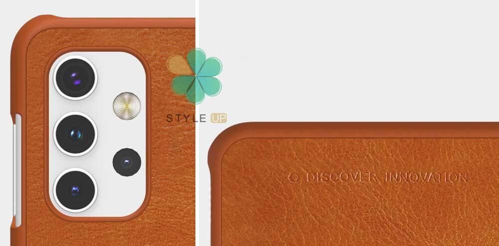 خرید کیف چرمی نیلکین گوشی سامسونگ Galaxy A32 / A32 5G مدل Qin