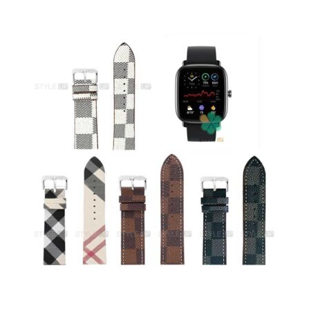خرید بند ساعت امازفیت Amazfit GTS 2 Mini طرح لویی ویتون