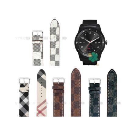 خرید بند ساعت ال جی LG G Watch R W110 طرح لویی ویتون