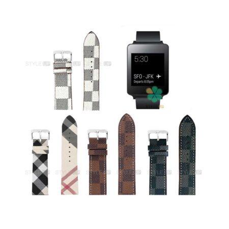 خرید بند ساعت ال جی LG G Watch W100 طرح لویی ویتون
