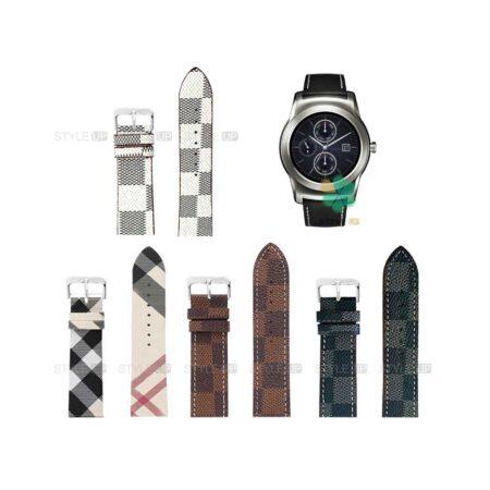 خرید بند ساعت ال جی LG Watch Urban Luxe طرح لویی ویتون