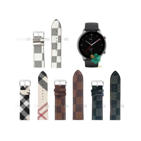 خرید بند ساعت شیائومی Xiaomi Amazfit GTR 2 طرح لویی ویتون