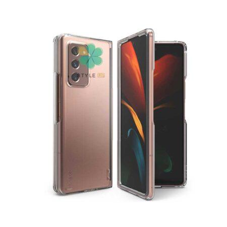 خرید قاب پلی کربنات شفاف گوشی سامسونگ Galaxy Z Fold 2 5G مدل Q Series