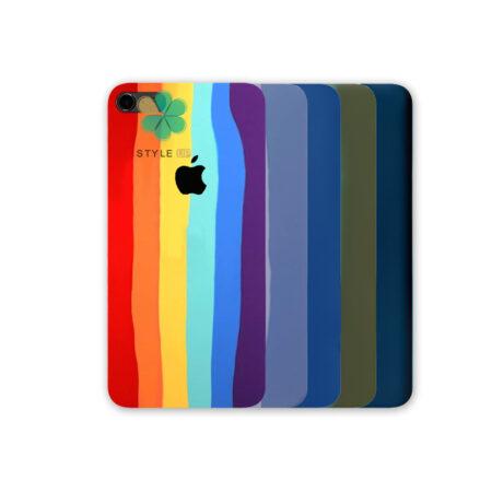 خرید قاب سیلیکونی گوشی آیفون iPhone 6 Plus / 6s Plus مدل رنگین کمان
