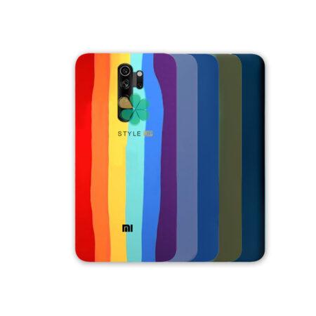 خرید قاب سیلیکونی گوشی شیائومی Xiaomi Redmi Note 8 Pro مدل رنگین کمان