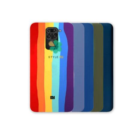 خرید قاب سیلیکونی گوشی شیائومی Xiaomi Redmi Note 9 مدل رنگین کمان