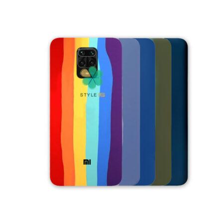 خرید قاب سیلیکونی گوشی شیائومی Redmi Note 9s / 9 Pro مدل رنگین کمان