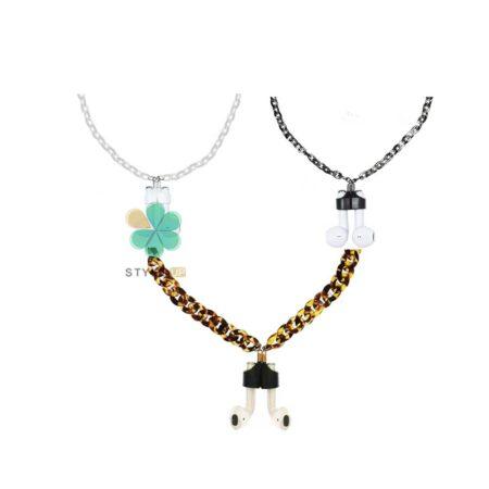 خرید بند نگهدارنده هندزفری ایرپاد Apple Airpods مدل Necklace Acrylic Chain
