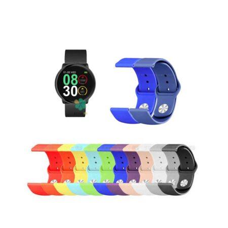 خرید بند سیلیکونی ساعت هوشمند اس آر - S11 Smart مدل دکمه ای