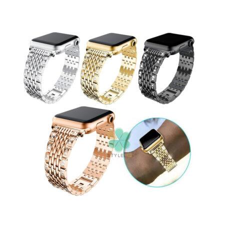 خرید بند استیل ساعت اپل واچ Apple Watch 42/44mm مدل SwaRows
