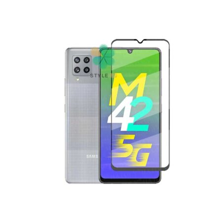 خرید گلس گوشی سامسونگ Samsung Galaxy M42 5G مدل تمام صفحه