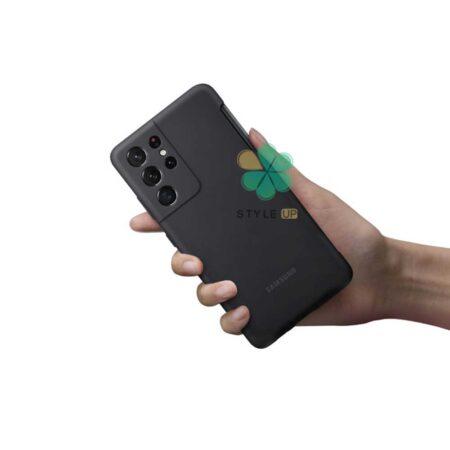 خرید کاور سیلیکونی اورجینال گوشی سامسونگ S21 Ultra 5G با قلم S-Pen