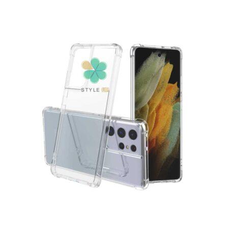 خرید قاب ژله ای گوشی سامسونگ Samsung Galaxy S21 Ultra 5G مدل کپسول دار