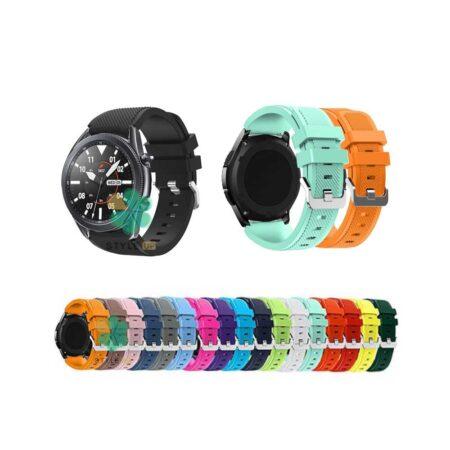 خرید بند سیلیکونی ساعت هوشمند سامسونگ Galaxy Watch 3 45mm
