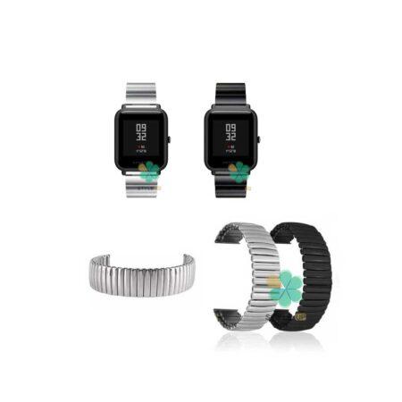 خرید بند فلزی ساعت شیائومی Amazfit Bip Lite مدل Solo One Bead