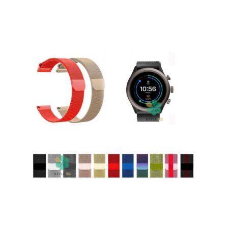 خرید بند استیل ساعت فسیل اسپرت Fossil Sport مدل New Milanese