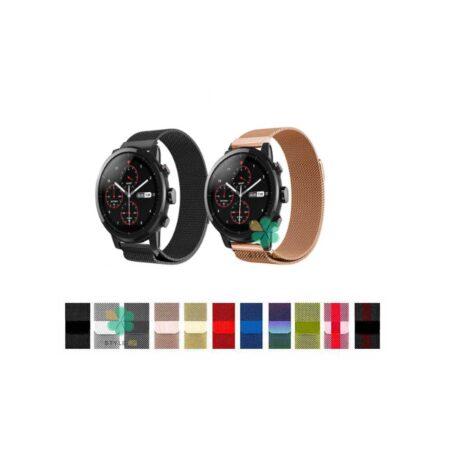 خرید بند استیل ساعت شیائومی Xiaomi Amazfit Stratos Plus مدل New Milanese