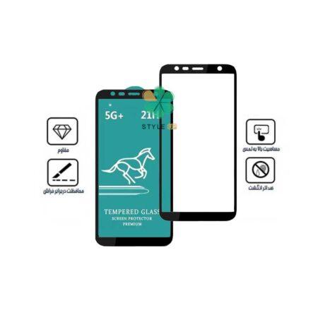 خرید گلس فول 5G+ گوشی سامسونگ Galaxy J6 Plus برند Swift Horse