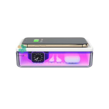 خرید دستگاه ضد عفونی کننده و شارژر وایرلس توتو مدل ToTu N52