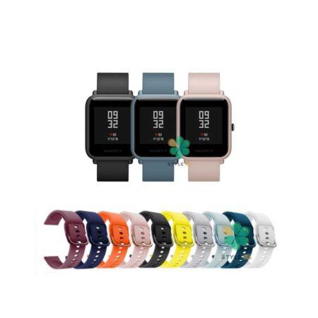 خرید بند ساعت شیائومی Amazfit Bip Lite مدل سیلیکونی نرم