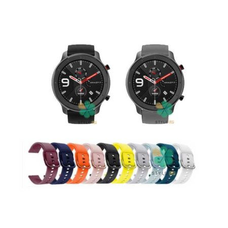 خرید بند ساعت شیائومی Xiaomi Amazfit GTR Lite مدل سیلیکونی نرم