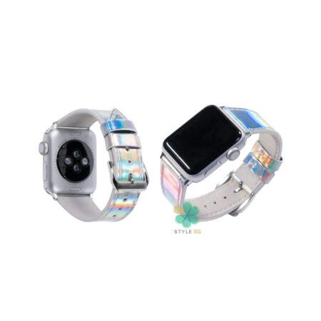 خرید ست قاب آیفون، بند اپل واچ و کاور ایرپاد استایل هولوگرامی