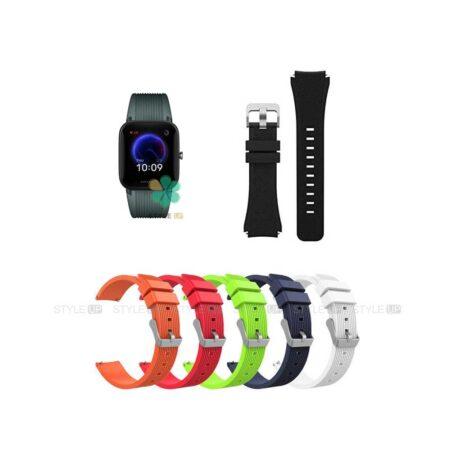 خرید بند سیلیکونی ساعت شیائومی Amazfit Bip U Pro طرح گلکسی