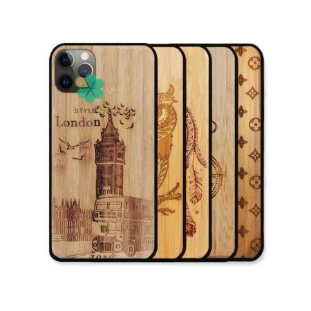 خرید قاب گوشی اپل ایفون Apple iPhone 12 Pro طرح چوب Bomboo