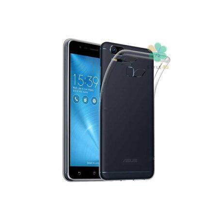 خرید قاب گوشی ایسوس Asus Zenfone 3 Zoom ZE553KL مدل ژله ای شفاف