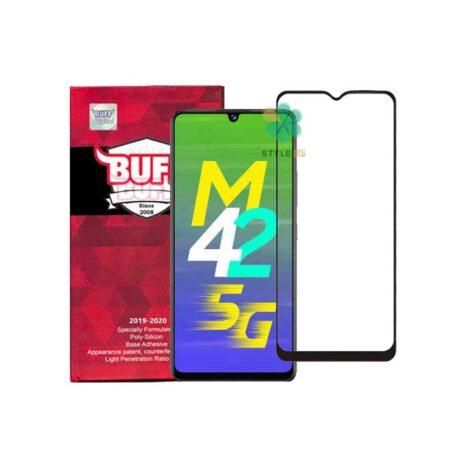 خرید گلس محافظ صفحه گوشی سامسونگ Galaxy M42 5G مدل Buff 5D