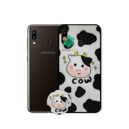 خرید کاور گوشی سامسونگ Samsung Galaxy A20 طرح رئیس مزرعه
